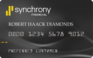 Robert Haack Diamonds Credit Card.